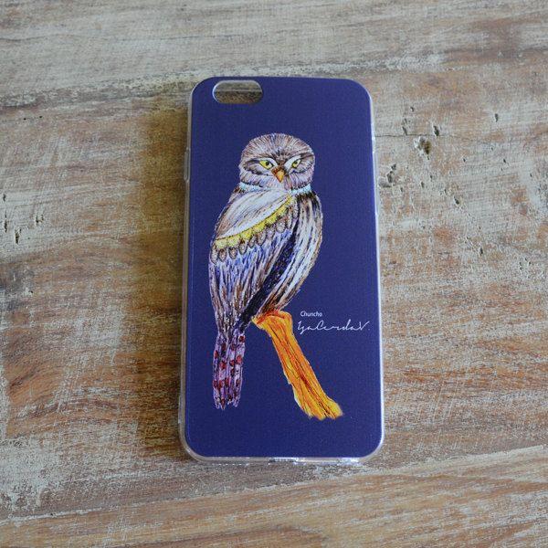 Iphone cases Diseño Owl Chuncho de IsabelCerda en Etsy