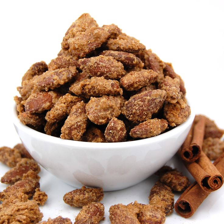 Cinnamon Roasted Almonds - these will be for our New Year's Eve party!