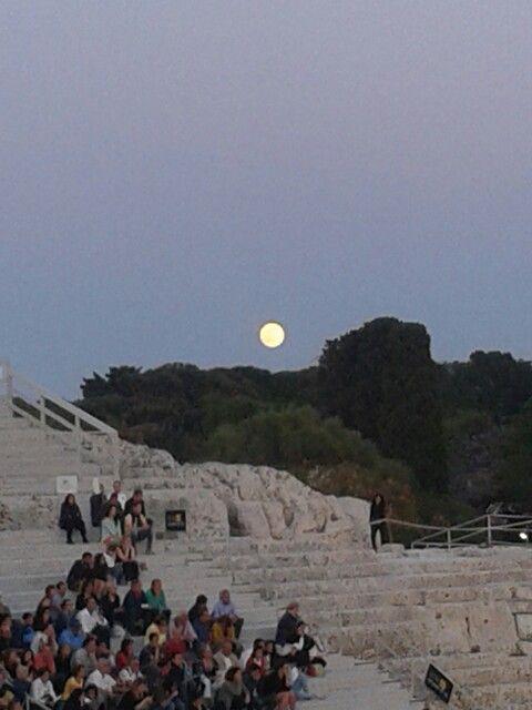 #greek #theatre #drama #inda #tragedies #greeks #syracuse #siracusa #teatro greco #tourism #summer