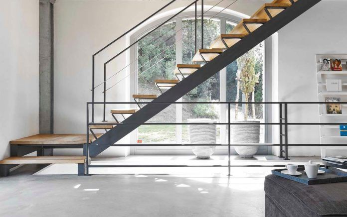 Traditional from the outside and modern and industrial from the inside by Special Umbria - CAANdesign   Architecture and home design blog