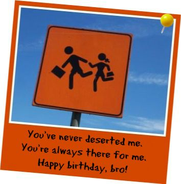 Brother Birthday Wishes - Birthday Messages for Brothers! Courtesy of BirthdayMessages.net!