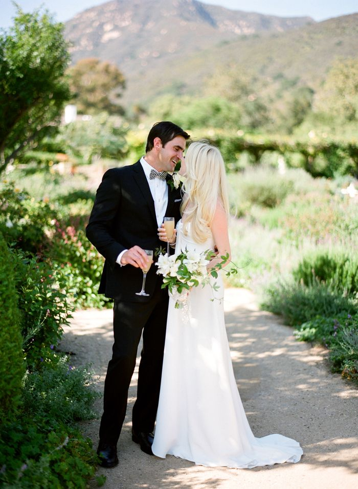 San Ysidro Ranch Wedding: Ysidro Ranch, Wedding Ideas, Real Wedding, Wedding Blog, Simple Flowers, Wedding Hair Colors, Pretty Hair,  Bridegroom, Ranch Weddings