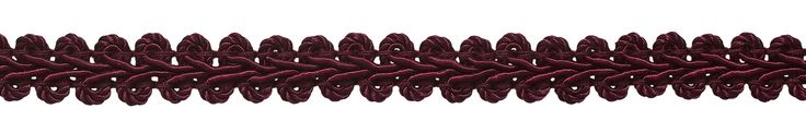 "54 Yard Value Pack of 1/2"" Burgundy Basic Trim French Gimp Braid, Style# FGS Color: RUBY - E10 (164 Ft / 50 Meters)"