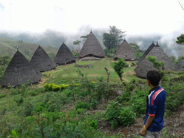 Wae Rebo, Manggarai Flores, East Nusa Tenggara, Indonesia