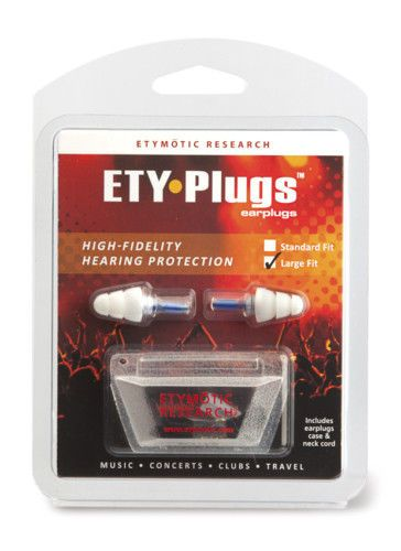 (awesome ear plugs that don't ruin sound , just lower it (for drumming/concerts). expensive though) Etymotic ER20 ETY Plug Hearing Protection Large Blue | eBay
