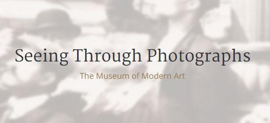 MoMA e Coursera oferecem curso de fotografia online