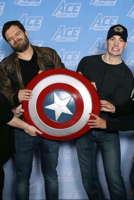 Evanstan | Ace Comic Con, Jan 2018 - Looks like it was a fun Con, even if Chris Evans missed the last day sick.