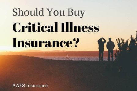 The decision of whether or not to buy critical illness insurance will depend on many factors, including budget, personal experience and potential loss