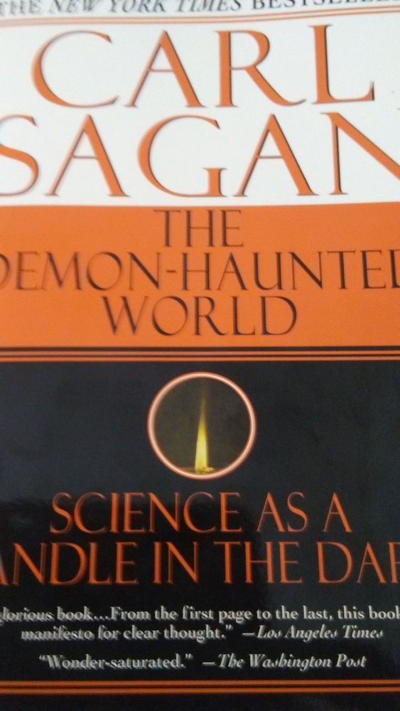 a review of sagans book a demon haunted world science as a candle in the dark Click to read more about the demon-haunted world: science as a candle in the dark by carl sagan librarything is a cataloging and social networking site for booklovers.