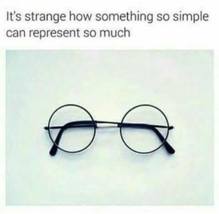 "I see anyone anywhere wearing round, black glasses and I'm like: ""It's Harry's glasses!"""