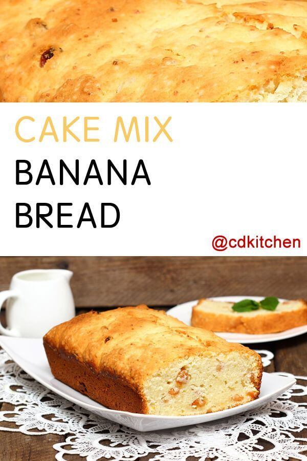 Banana Nut Bread With Cake Mix And Pudding
