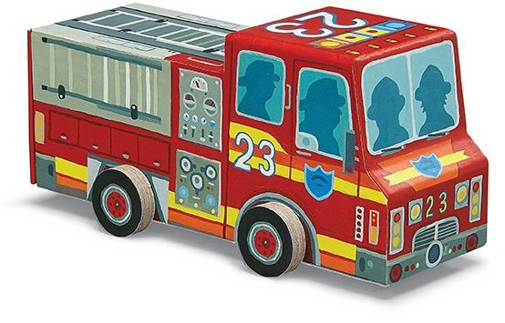 Fire Truck Spin 'n Play Puzzle