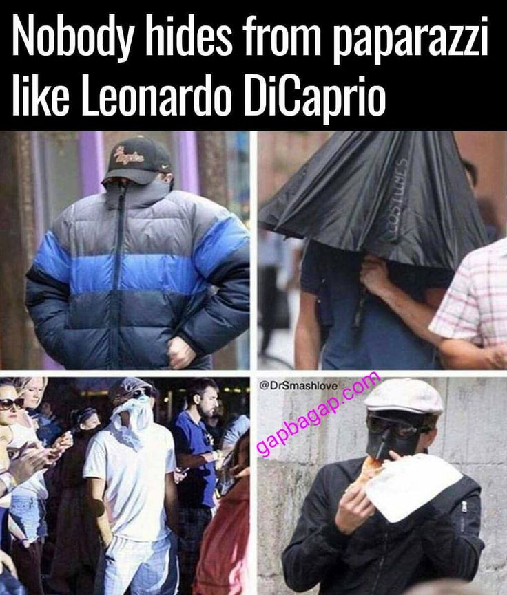 Leonardo DiCaprio vs Paparazzi