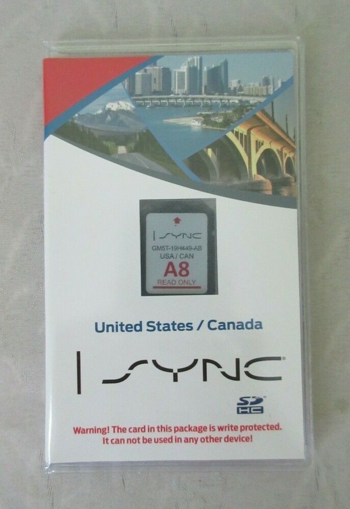 Pin On Sync A8 Ford Lincoln Navigation Map Update Sd Card Us Can