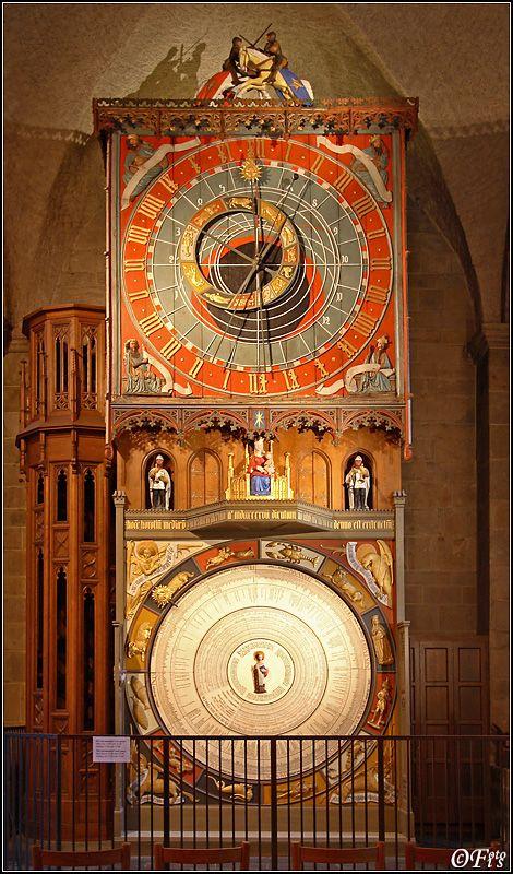 The Lund Cathedral Clock.  Lund, Sweden.