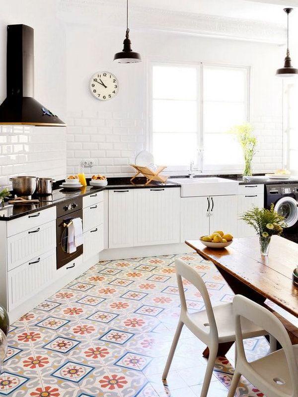 Mejores 95 im genes de cocina kitchen en pinterest - Suelo hidraulico sevilla ...