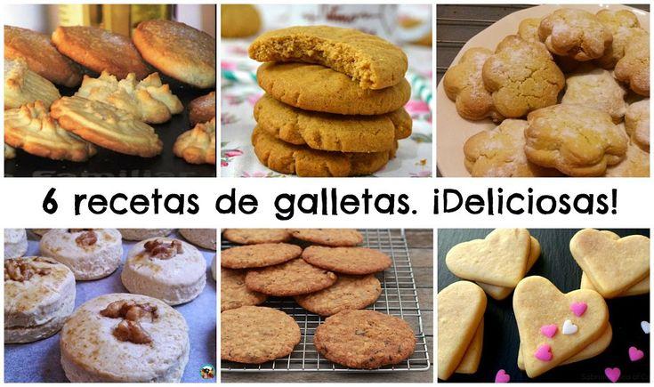 6 recetas de galletas de mantequilla ¡Perfectas para el desayuno o la merienda!   Cocinar en casa es facilisimo.com