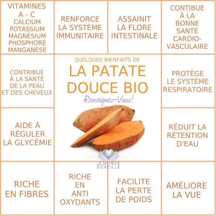 Les Bienfaits de la Patate Douce | PATATE DOUCE Le Monde s'Eveille Grâce à Nous Tous ♥