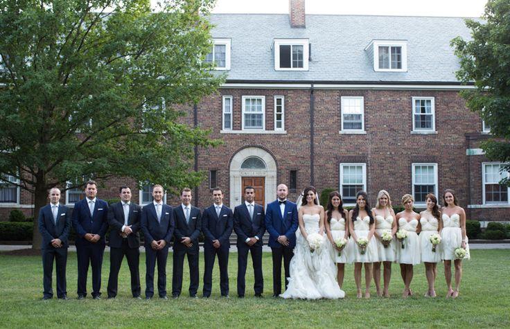 St. Andrew's College wedding party