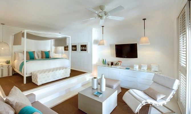 Hotel Lux Belle Mare Mauritius Elegant Bedrooms by Kelly Hoppen | #bedroomideas bedroomfurniture #bedroomsets | See also: www.bedroomideas.eu @kellyhoppen @luxresorts