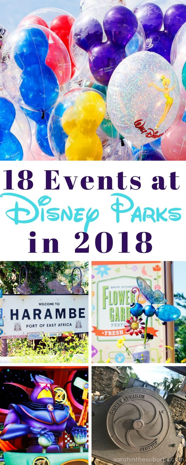 2018 is going to be a great year to visit a Disney Park! Whether you're visiting Disneyland or Walt Disney World, there is so much to see an...
