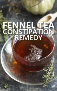 Dr Oz says drinking Fennel Tea will help regulate digestion and ease constipation.Willatina Howard