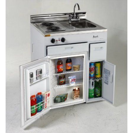Avanti Ck3016 Complete Compact Kitchen With Refrigerator