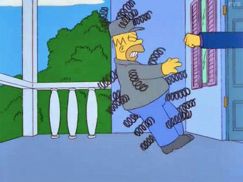 Homero siendo Homero #gif