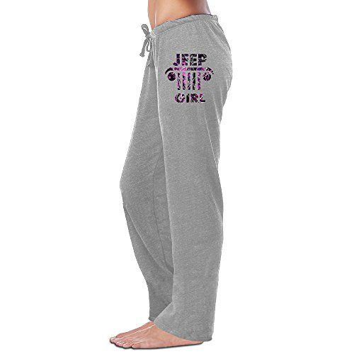 Luckva Adult Womens JEEP Girl Running Sports Sweatpants Large ** Visit the image link more details.(This is an Amazon affiliate link and I receive a commission for the sales)