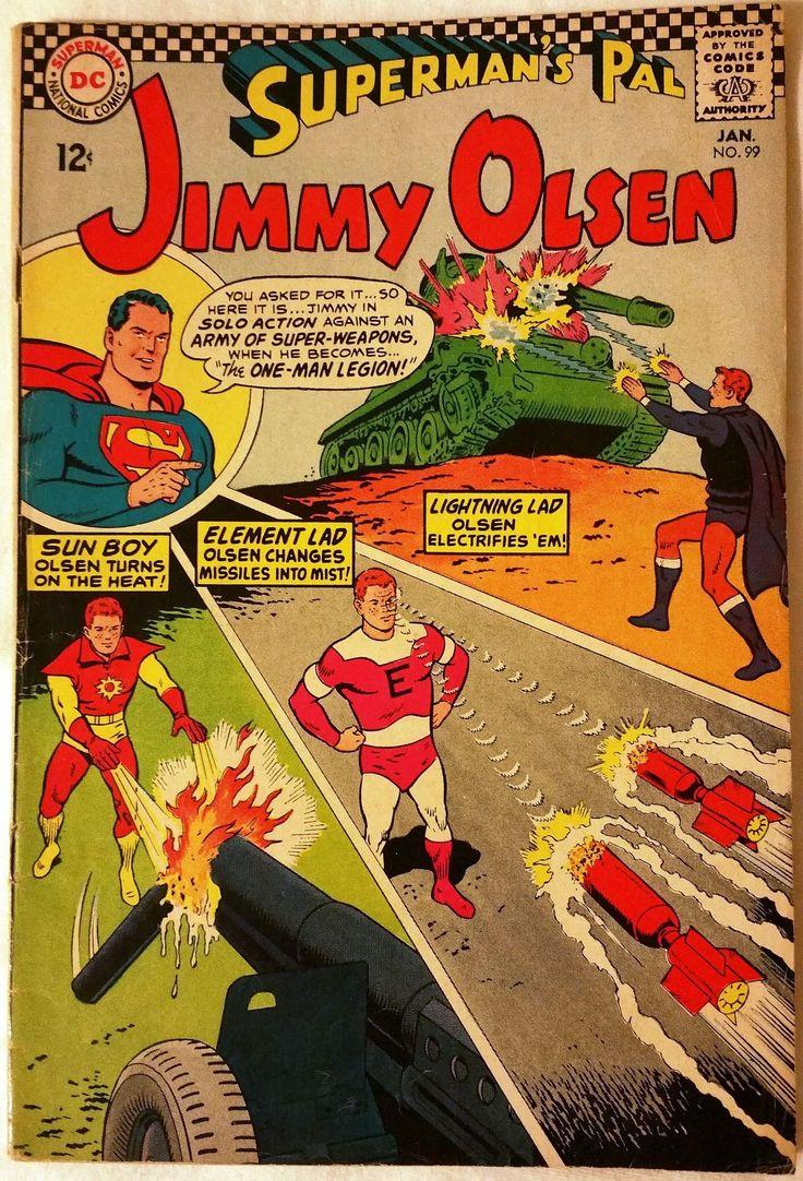 DC Jimmy Olsen #99