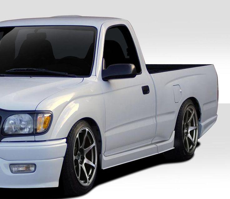 2001-2004 Toyota Tacoma 2DR Duraflex Xtreme Side Skirts Rocker Panels - 4 Piece