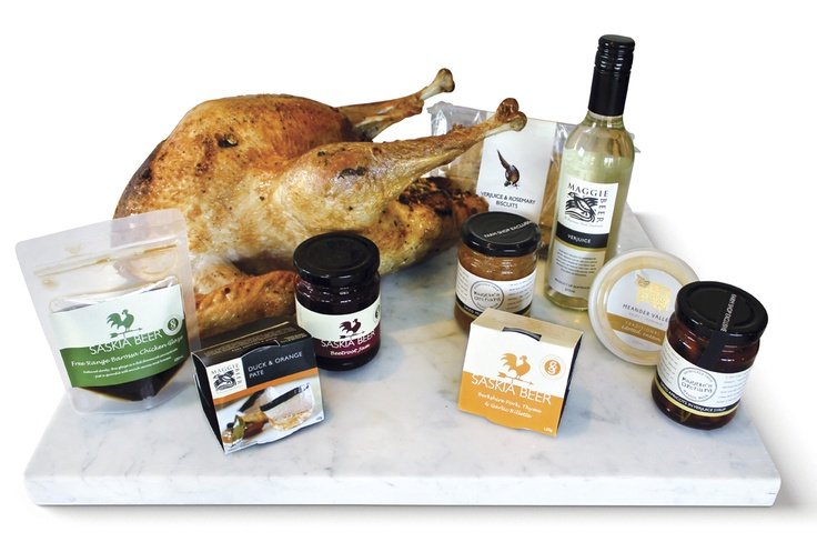 Barossa Turkey Feast. From the Beer family table to yours, pre-cooked Barossa free range turkey stuffed with prosciutto & sage with sides for a 3 course feast. $180