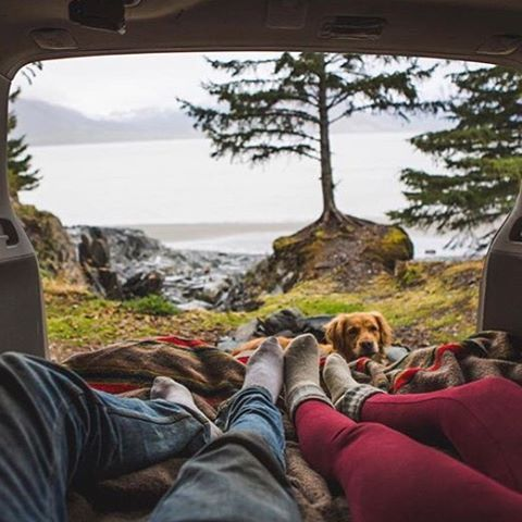 "campbrandgoods: ""Lakeside & chill #campbrandgoods #keepitwild Photo by: @johnwingfield """