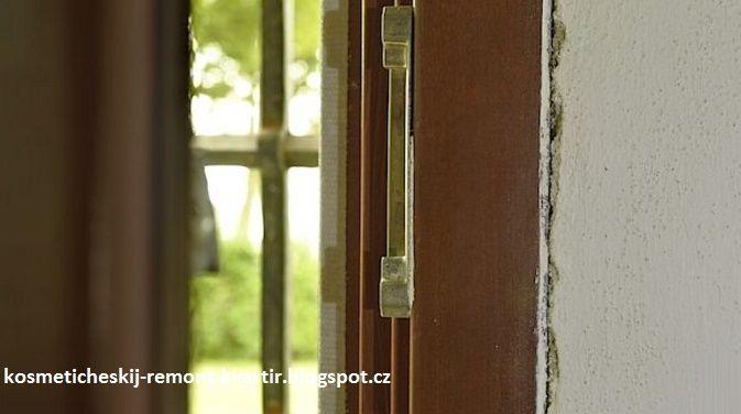 Косметический ремонт квартир: Ремонт раскрошившейся штукатурки и трещин около оконных и дверных рам