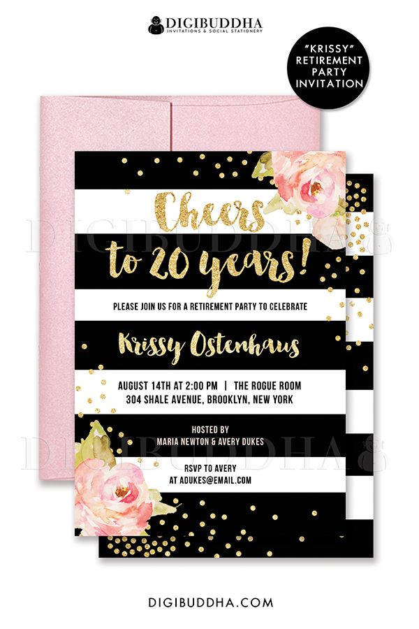 The 25+ best Retirement party invitations ideas on Pinterest ...