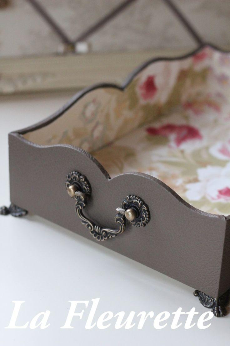 大人気のドット柄のダストボックス の画像|布のインテリア* ラ フルーレット の ダイアリー