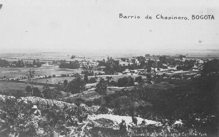 Barrio de Chapinero en Bogotá en 1918