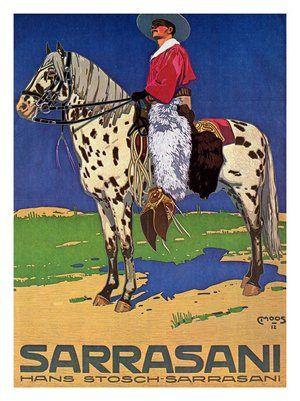 Circus Sarrasani (1912) (Susanlenox) Tags: art illustration vintage germany advertising poster circus kunst plakat zirkus sarrasani reklamen