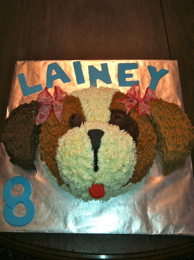 puppy cakes | Puppy dog face — Birthday Cakes