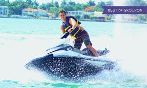 Groupon - Jet Ski Rentals and Jet Boat Miami Tours (Up to 48% Off). Three Options Available.  in Miami. Groupon deal price: $69