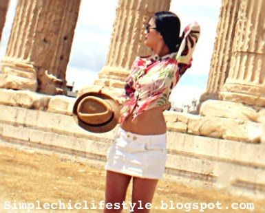 Simple Chic Lifestyle: Summer boho-chic travel style look