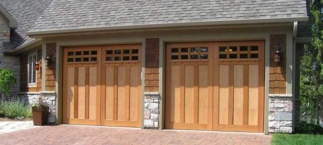 creative nice wonderful cool amazing awesome garege door with double wooden concept design with brown accent