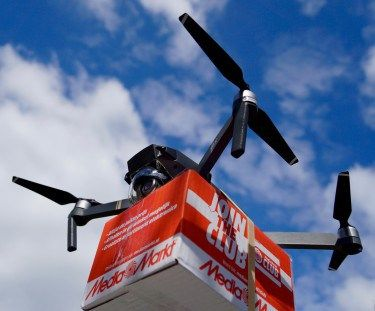 Delivering packages with drones can reduce carbon dioxide emissions in certain circumstances as compared to truck deliveries, a new study from University of Washington  transportation engineers finds. In a paper to be published in an upcoming issue of Transportation Research Part D, researchers...