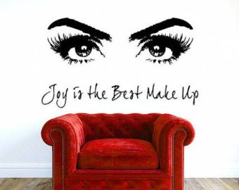 Best Wall Art Images On Pinterest Beauty Salons Wall Decals - Wall stickershuhushopxaudrey hepburn beautiful eyes removable