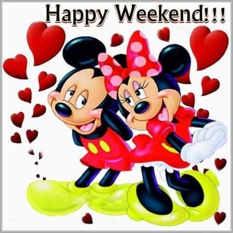 ❤️Happy Weekend ~ Mickey and Minnie Mouse