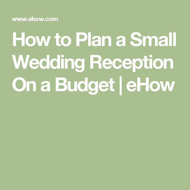 Small Wedding Ideas On A Budget: 17 Best Ideas About Small Wedding Receptions On Pinterest