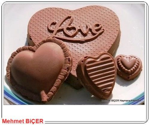 Çikolata Kalpler