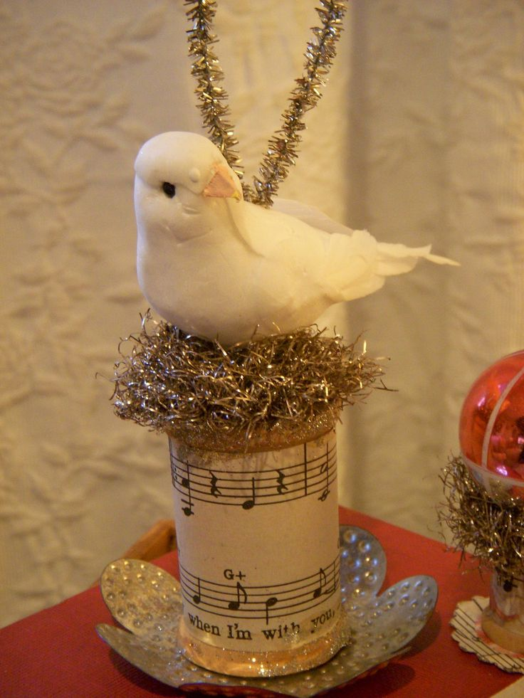 Christmas Ornaments Birds