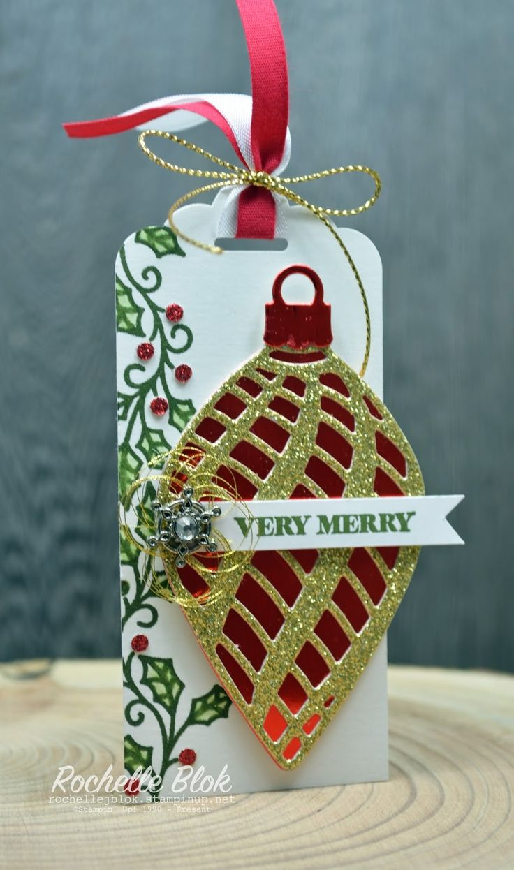 The Stamping Blok: Stampin' Up! Holiday Catty Sneak Peek - Delicate Ornament Thinlits - Rochelle Blok #stampinup