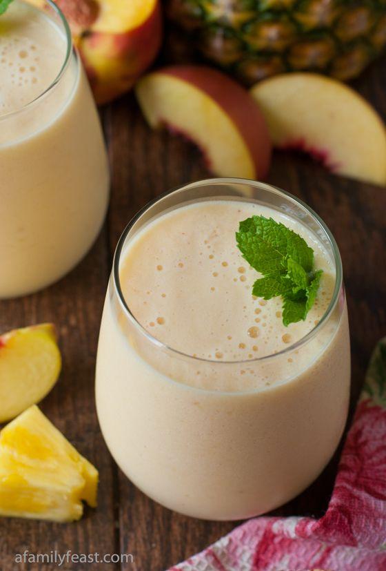 Trópusi turmix – tej nélkül, csak gyümölcsökből, laktózérzékenyek is fogyaszthatják!